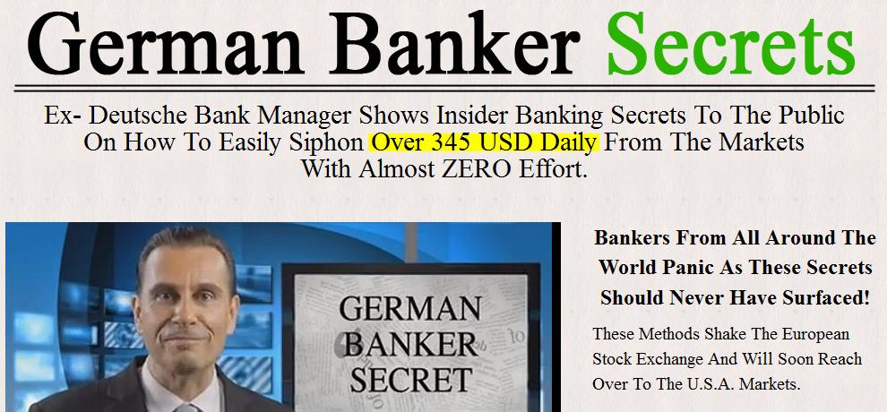 German Banker Secret